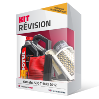Kit révision YAMAHA 530 Tmax 2012-2016 - MOTUL 4L (révision intermédiaire)