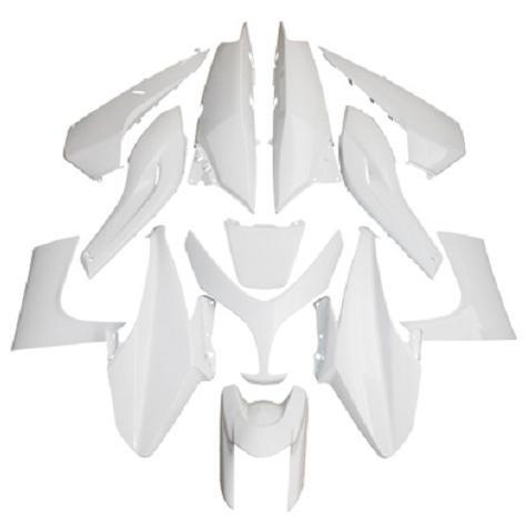 kit carenages yamaha 500 tmax 2008 2011 blanc 13 pieces. Black Bedroom Furniture Sets. Home Design Ideas