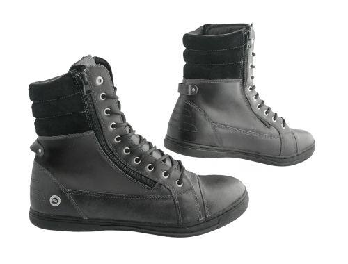Chaussures Moto 1964 SHOES Cafe Racer Rugged Noir Pointure 40