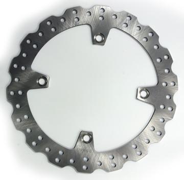 Disque de frein Honda Festonné D276x166x144.2mm (4 trous D10.5mm) Epaisseur 4mm
