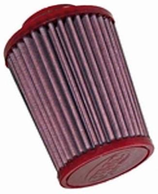 Filtre a air conique droit BMC RACING - D66mm x l100mm x L130