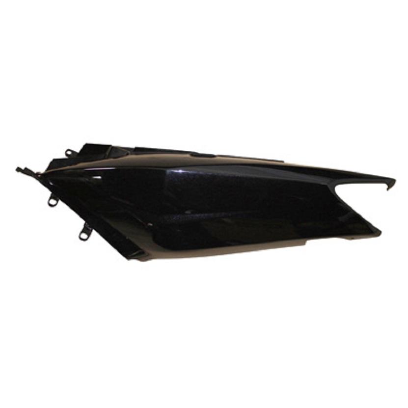 Carénage Yamaha Tmax 2002-2007 - flanc arrière gauche Noir (adaptable)