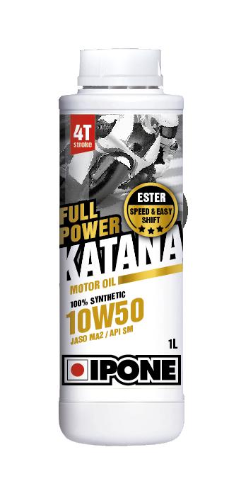 Huile 4T Ipone Moto Full power KATANA (10w50 - 1L)