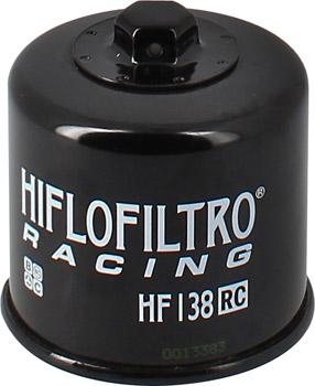 Filtre a huile HifloFiltro Racing HF138RC Aprilia 1000 RSV4 / Suzuki Intruder
