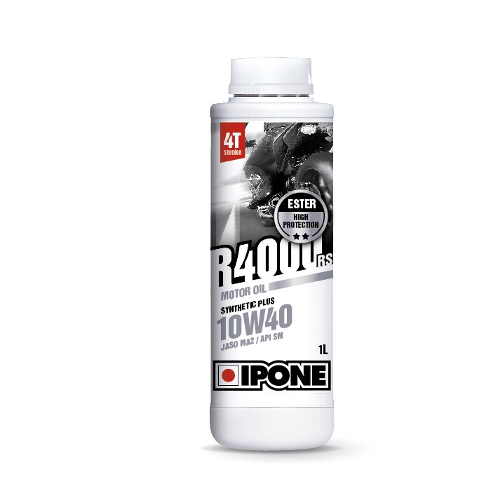 Huile 4T Ipone Moto R4000RS (10w40 - 1L)