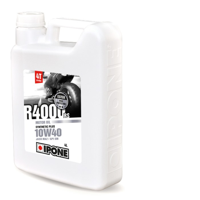 Huile 4T Ipone Moto R4000RS (10w40 - 4L)