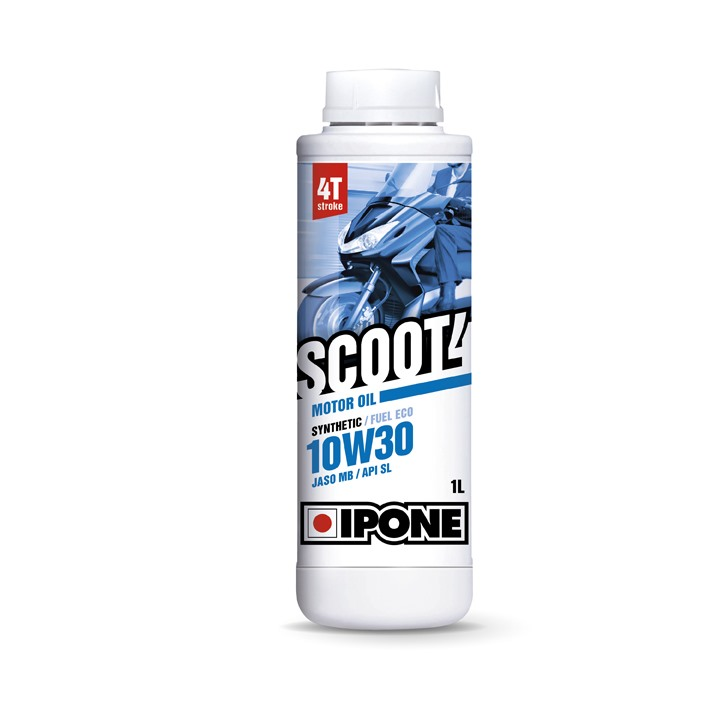 Huile 4T Ipone SCOOT 4 (10w30 - 1L) - Synthetic