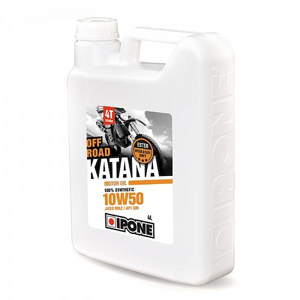 Huile 4T Ipone KATANA OFF ROAD (10w50 - 4L)