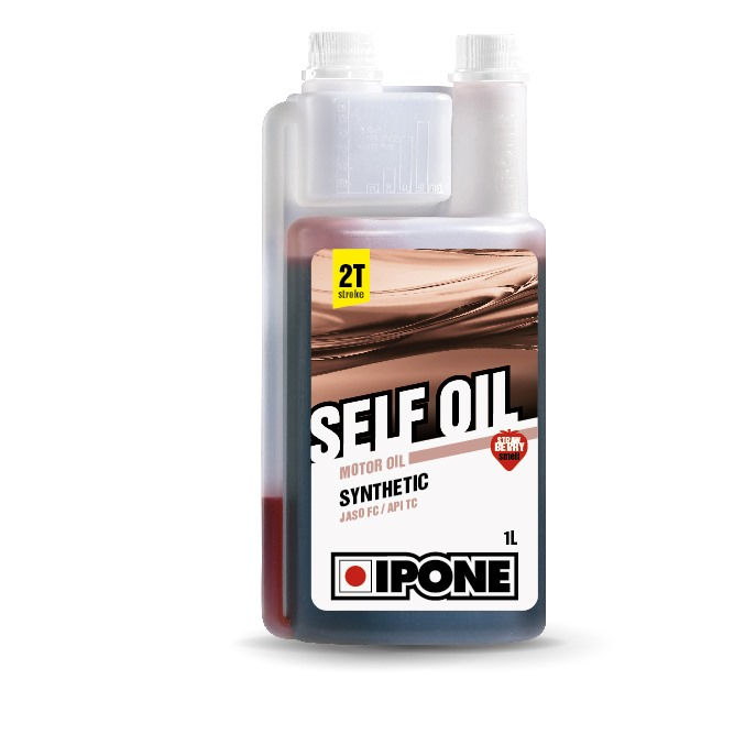 Huile 2T Ipone Semi-synthetique Self oil Synthesis (1L) - senteur Fraise