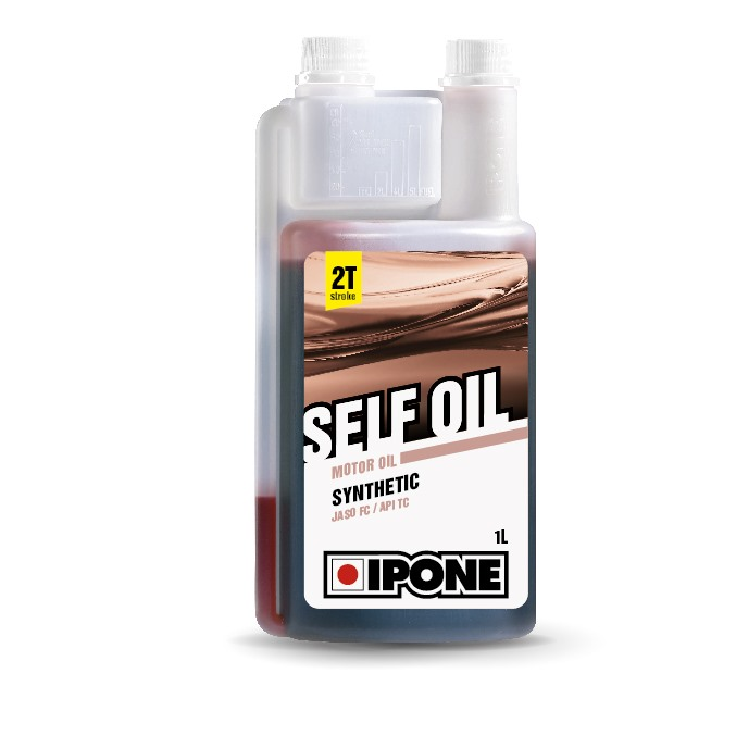 Huile 2T Ipone Semi-Synthetique Self oil Synthesis (1L)