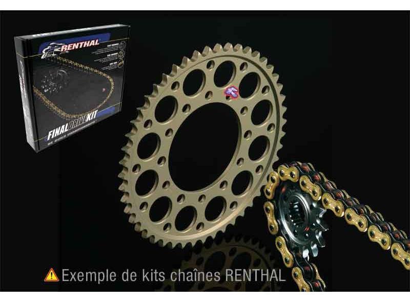 Kit Chaîne KTM 125 EXC 1998-2008 / 300 EXC 2004/2008 RENTHAL