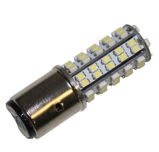 Lampe 12V type BA20D projecteur LED eclairage blanc