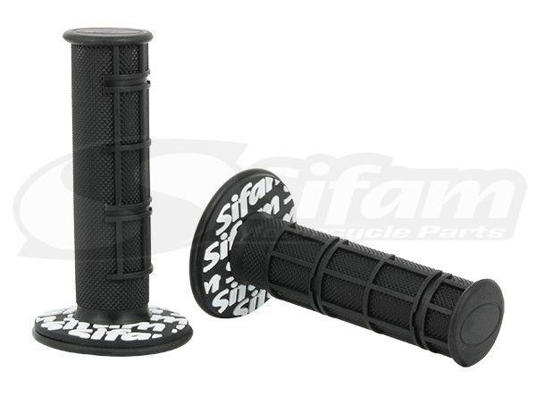 Poignees Moto SIFAM Noir (La paire)