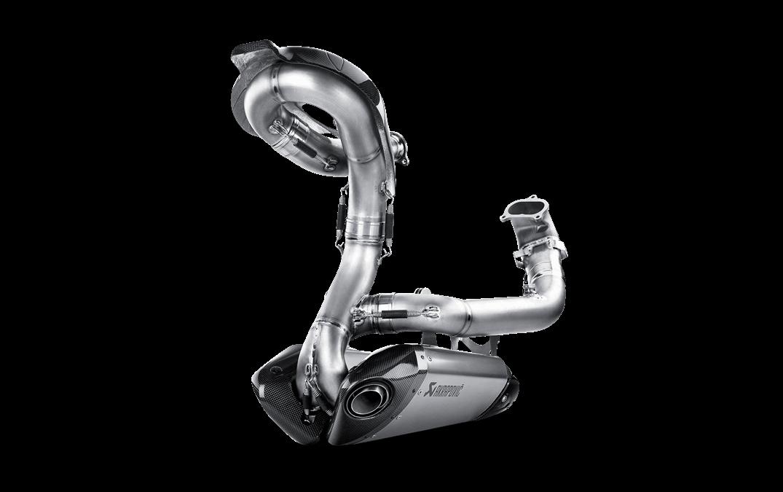 Echappement AKRAPOVIC EVO Ducati PANIGALE Ligne complète Titane