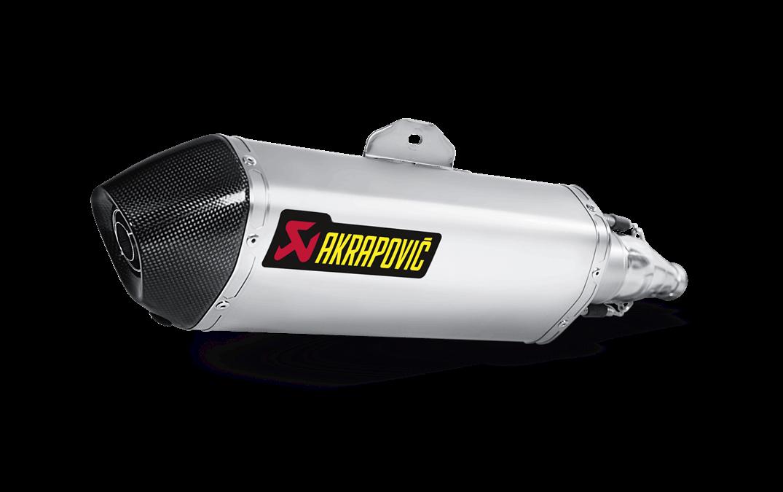 Silencieux AKRAPOVIC Honda SH300I Acier Inox / Carbone