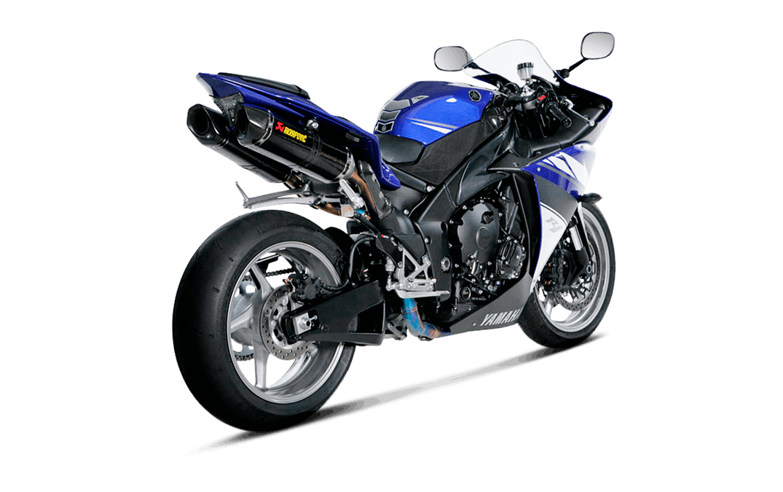 Echappement AKRAPOVIC EVO Yamaha YZF R1 Ligne complète Titane / Carbone