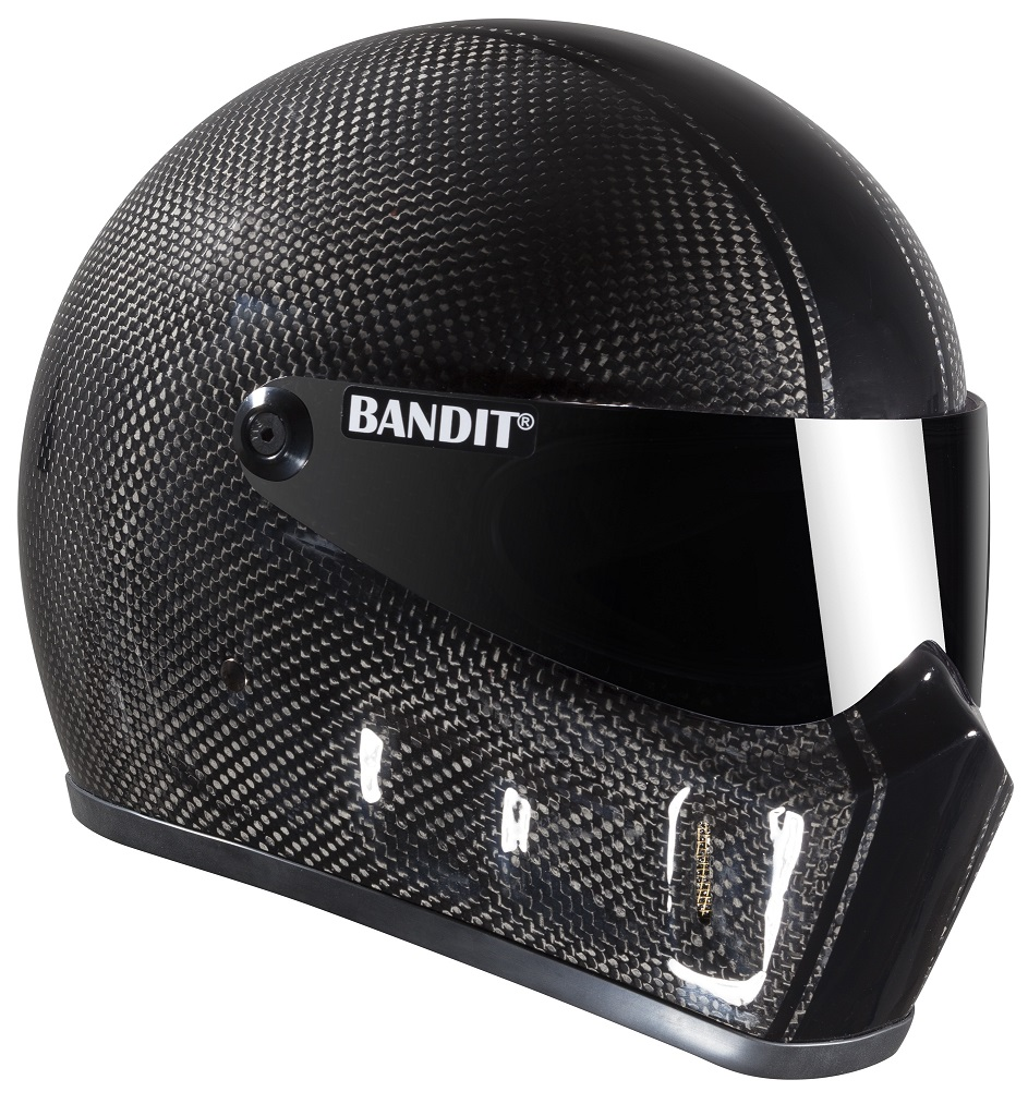 Casque BANDIT SUPER STREET II MAT BLACK-