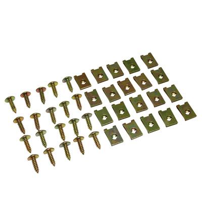Vis de carenage avec agraffe (12,5x20x4,5x0,6) - (x20)