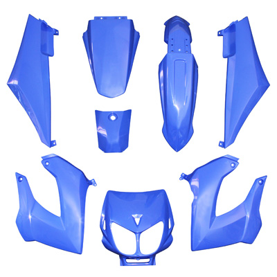 Kit carenages Derbi Senda Xtreme / Xrace (Bleu)