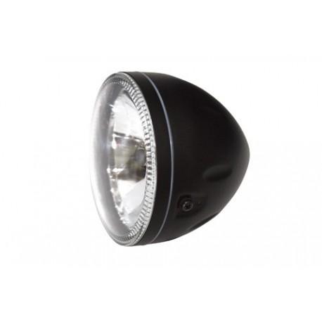 Optique de phare Universel SKYLINE veilleuse liseret led - Noir
