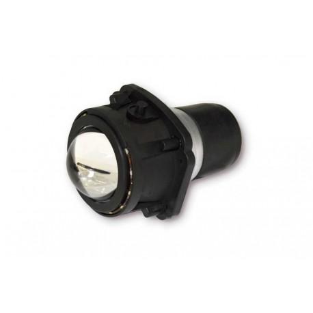Optique de phare Lenticulaire Universel LUMIA Fonction Code Veilleuse à LED - Noir