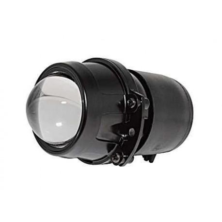 Optique de phare Universel LENTICULAIRE Fonction Code - Noir