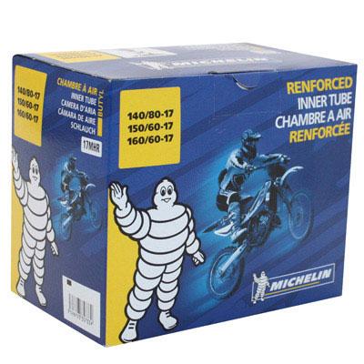 Chambre à air 17 pouces (140/80-150/60-160/60) - Michelin Offroad 17MHR Valve TR4