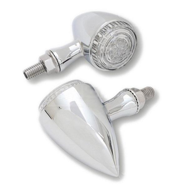 Clignotants LED COLORADO Chromé (paire)